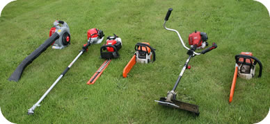 Some Of The Professional Garden Tools We Use.